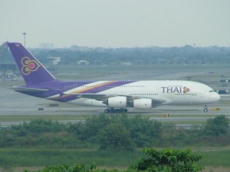 Bangkok plane spotters