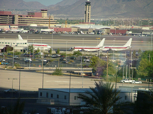 Plane Spotting At LAS