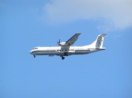 Plane Spotting Santorini