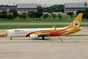 Don Muang Nok Air Boeing 737 800 HS-DBL June 2013