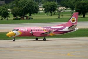 Don Muang Nok Air Saab SF340 HS-GBD June 2013